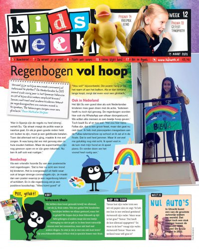 Kidsweek Cover week 12