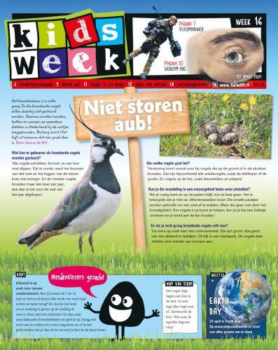 Kidsweek cover week 16